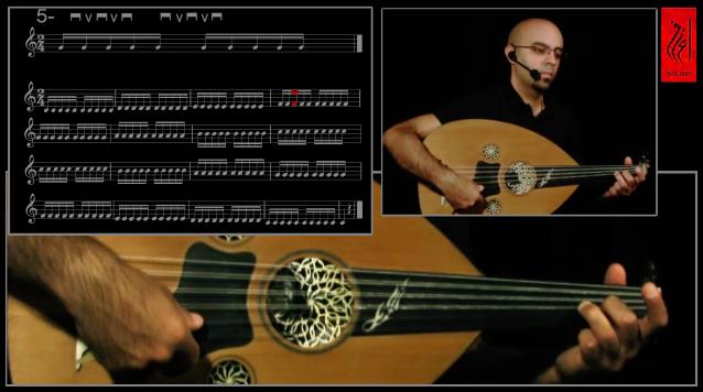87564c9e3 تمارين ريشة العود - موقع إعزف لتعليم الموسيقى على النت