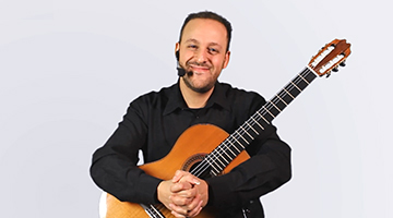 Learn Classical Guitar for intermediate level with Dr. Tariq Harb on izif.com The Online Music School. Video Tutorials with an expert guitar professor