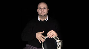 Learn to play Darbuka , the most popular Arabic percussion instrument with the Darbuka master Mr. Nasser Salameh
